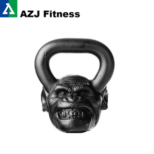 36 lbs chimp animal face kettlebell