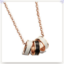 Joyas de acero inoxidable Lady Fashion Necklace (NK236)