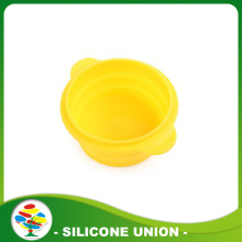 Silicone Pet luar ruangan portabel Folding Bowl