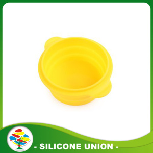 Silicone Pet Outdoor Portable Folding Bowls