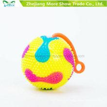Мигающий звучащий светло-до колючие Массажировать фугу мяч йо-йо игрушки