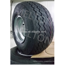 china tire factory 18x8.5-8 golf car tire with rim cheap price