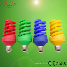 Moitié en spirale en forme Energy Saving Lamp (LWHS001)
