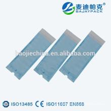 paquetes de esterilización en autoclave