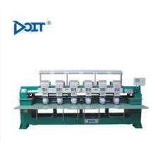 DT C906 6 HEAD INDUSTRIAL CAP embroidery machine hat sewing machine for sale