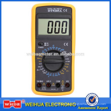Low price digital multimeter DT9205A with Capacitance Test Auto Power Off