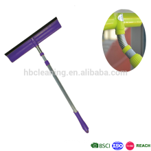 blade squeegee with handle, rubber scrubber
