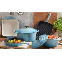 cooker set-enamel casserole pan set