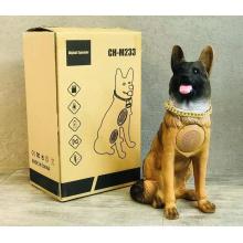 2021 Super Big Shape Full-body Shepherd Dog  CH-M233 Good Bass Bt Mic Animal Speaker Box Portable Wireless Tws Speaker