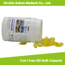 2015 Hot Sale Cod Liver Oil Soft Capsule
