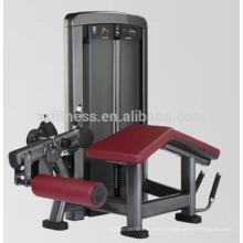 Deportes gimnasio gimnasio equipo pin cargado Prone leg curl Machine