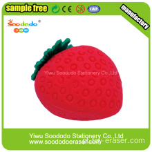 Strawberry Shaped Eraser Promoção, mini bonito borracha