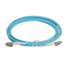 Cordon de brassage fibre optique LC à LC OM3