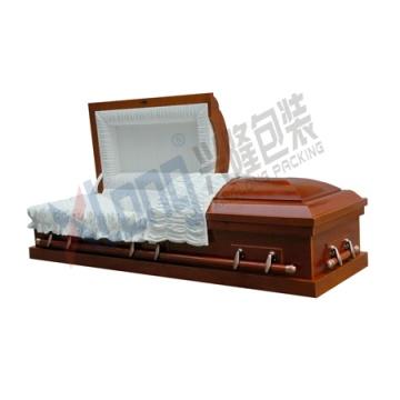 Meio caixão aberto