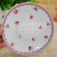 Grande qualité de nouvelles assiettes ovales en porcelaine de Chine