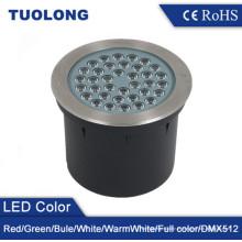 Luz empotrada LED subterránea luz 50W Luz LED enterrada brillante IP67