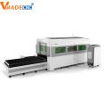 Découpeuse de laser de fibre de revêtement d'acier allié