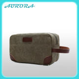 Alibaba china travel toiletry kit canvas cosmetic pouch bag