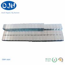 Неодимовый магнитный блок в форме цинкового покрытия
