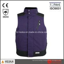 En343 Mens Waistcoats Waterproof Safety Vest