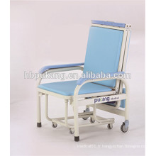 Chaise d'accompagnement pliable