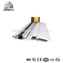 Profil d'extrusion de seuil de porte en aluminium personnalisé en usine