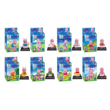 Cartoon Rosa Schwein Modell Mini-Figuren Bausteine ​​10245782