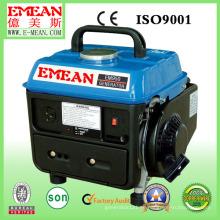 Einphasiger geräuscharmer Luft-gekühlter Benzin-Generator 500W