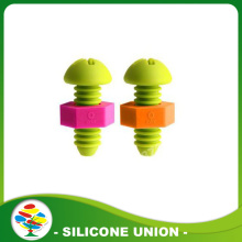 Eco-friendly silicone cross screw bottle stopper