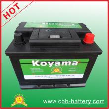 Batería del coche de la batería del vehículo de la batería del automóvil de Koyama 12V 45ah 54519-Mf