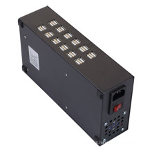 24 portas 150W 30A 0.1A - 2.4A Rapid Multi Port USB Charger