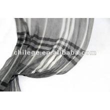 200s / 2 lenços de lã com lã e lenços verificados