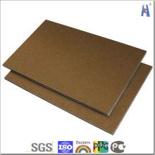Folha composta de alumínio Megabond ACP para revestimento de parede