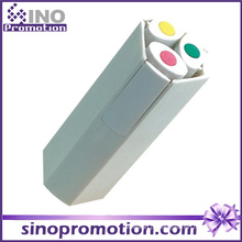 Marcador de caneta conjunto de marcadores Marcador de 3 em 1 caneta de marca-texto