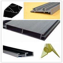 Профиль ПВХ, Пластмассовый экструзионно-пластиковый профиль, Пластиковые детали (PLAD-011)