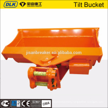 mini excavator tilt wide bucket