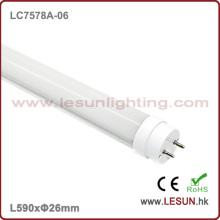 Luz de alta qualidade do tubo do diodo emissor de luz T8 de 10W 600mm / luz fluorescente LC7578A-06