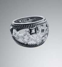 David Yurman tapestry dome ring
