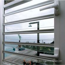 Modern bathroom used high quality aluminium frame glass louver windows