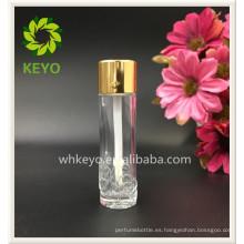 lápiz labial forma contenedor líquido corrector tubo de vidrio vacío botella de vidrio en relieve