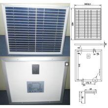 Módulo PV policristalino del panel solar de 9V 12V 18V 15W con la garantía de calidad de TUV