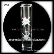 Beau vase en cristal L018