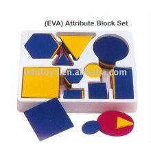 Bloque patrón Juguete educativo Ayuda didáctica geométrica