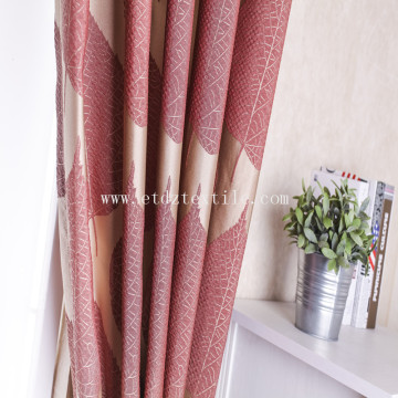 Special Yarn Dyed Linen Looking Jacquard hotel Curtain