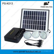 DC-Solar-Beleuchtungssystem mit mobilem Ladegerät