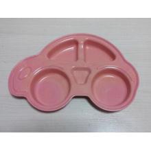 (BC-P1028) Посуда из бамбукового волокна Смазливая многодифференциальная пластина для детей