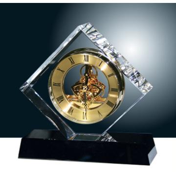 Nova moda relógio de mesa de cristal para casa e decoração do escritório (jd-cd-602)