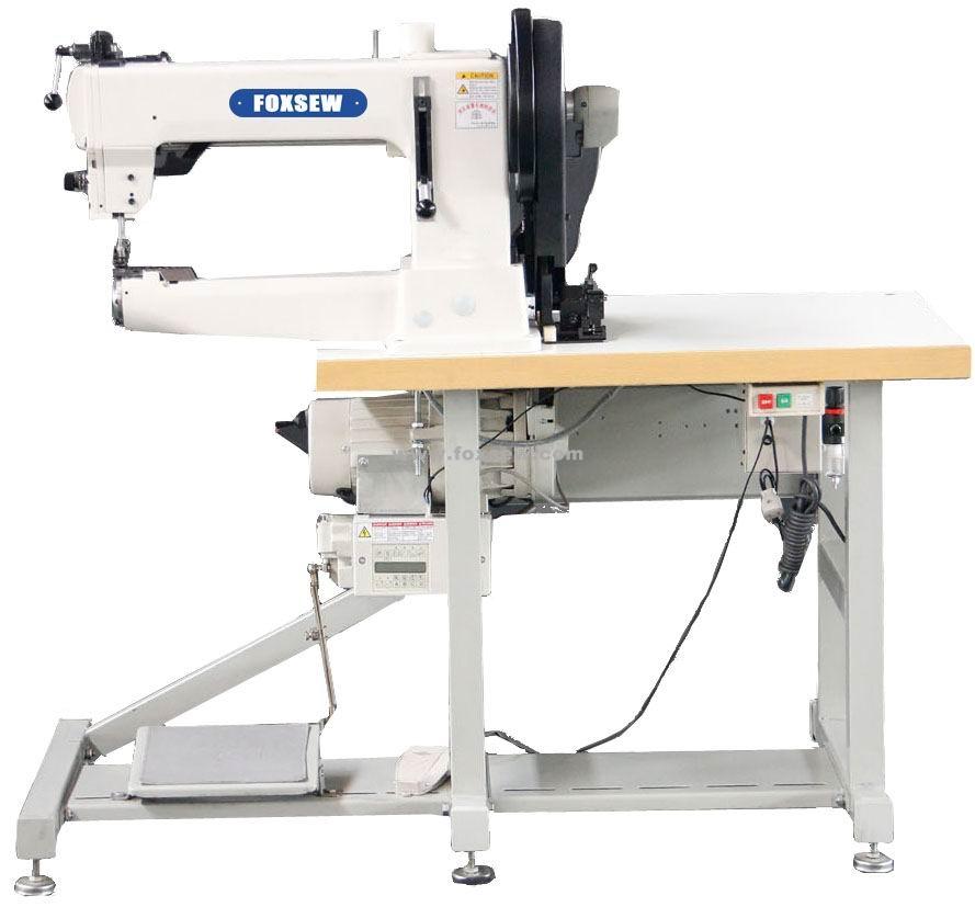 China Máquina de coser de la tapicería del pie que camina