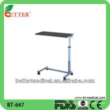 Hospital sobre la cama mesa / mesa de comedor, mesa de comedor
