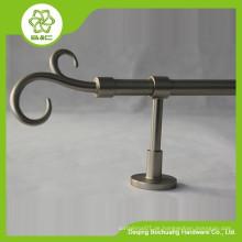 BC701 HOT Top verkaufen Aluminium Doppel Runde Vorhang Stangen / Vorhang Pole / Aluminium Vorhang Finial
